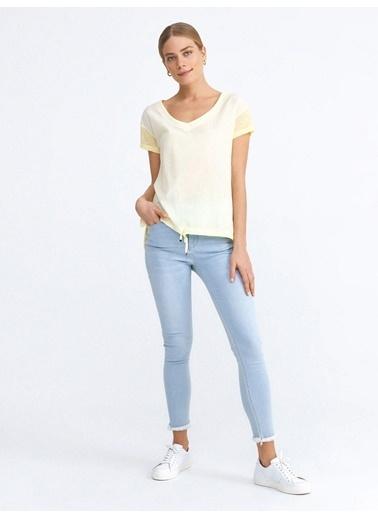 Xint Tişört Sarı